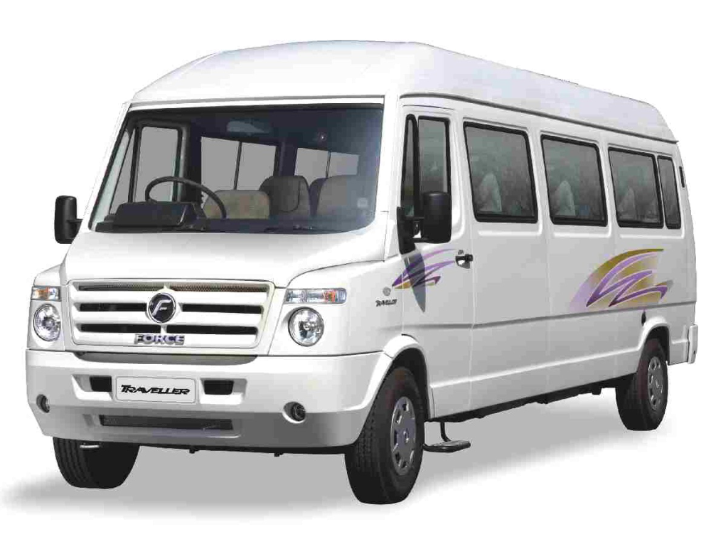 Mini bus travels in tirupati tirumala